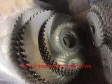 Redondo de acero de alta velocidad de la hoja de sierra con dientes