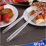 단단한 플라스틱 재사용할 수 있는 칼붙이 고정되는 취미 먹기 숟가락 항공 Tablewares