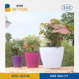 Aço Corten pote de flores para decoração exterior