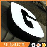 Выполненная на заказ форма/размер/конструкция напольный водоустойчивый Acrylic СИД рекламируя дорожные знаки