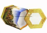Rectángulo de regalo del empaquetado/del festival del rectángulo de regalo del papel de dimensión de una variable irregular