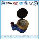 Mètre d'eau vertical de fer de moulage