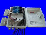 IP65 Grijze Kleur 16 van het Gebruik van de rang waterdichte Openlucht de Doos van de Distributie van de Vezel van Kernen