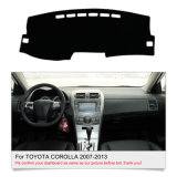 Painel de bordo Dashmat automóvel tapete almofada da Sun para a Toyota Corolla 2007-2013