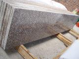 De goedkoopste Trede van het Graniet van de Perzik van de Aard Roze G687 met Stootbord en Stappen