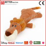견면 벨벳 제조자 애완 동물 장난감 박제 동물 연약한 찍찍하는 소리 개 씹기 장난감