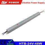 24V 2A 48W LED Transformador ac/dc de alimentación de conmutación de HTB