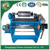 Manual de lámina de aluminio de alta calidad de Corte y rebobinado de la máquina