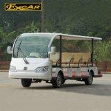 14 automobile/bus facenti un giro turistico elettrici Trojan delle sedi 72V