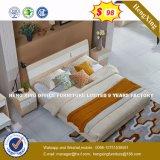 2016 горячая продажа двуспальная кровать с цельной древесины рамы мебель с одной спальней (HX-8NR0836)