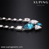 Halsband-00495 Xuping de Prijs van Gouden Halsband in de Kristallen van Taiwan van Nieuwste Juwelen Swarovski