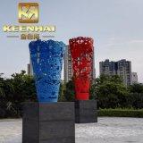 Keenhai kundenspezifische Edelstahl-Garten-Kunst-Metalskulpturen
