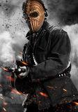 El juego militar de la cara llena de Airsoft protege negro seguro de la hebra de la máscara