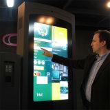 屋外のタッチ画面LCDの陳列台カスタマイズされたSigngae