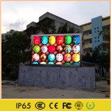 Doppeltes versah im Freien Videodarstellung des Wasser-Beweis-LED mit Seiten