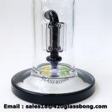 Hohe Arme Perc Shisha des Borosilicat-Glas-Doppelt-5 Huka Vaporizer Glaswasser-Pfeife