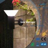 太陽LEDの壁ライト壁のパックの屋外の装飾的なライト