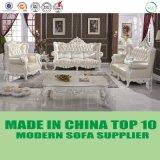 Luxushotel-klassisches europäisches ledernes Sofa-gesetzte Möbel