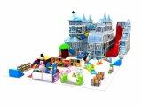 Crianças comercial equipamentos de playground coberto de plástico para venda
