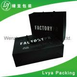 La maneta de papel plana modificó la bolsa de papel para requisitos particulares impresa regalo de las compras del diseño