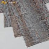 Suelo laminado de madera profundo del PVC, suelo plástico, azulejo de lujo del vinilo