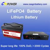bateria do fosfato do ferro do lítio da longa vida do banco da potência 48V100ah (LiFePO4)