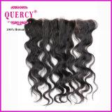 Frontal indiano do laço da onda 13*4 do corpo do cabelo da alta qualidade com preço de grosso