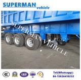 반 4개의 차축 팁 주는 사람 트레일러 또는 화물 덤프 트럭 로더 트레일러 60t