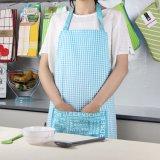Avental de cozinha maravilhosa para as mulheres estilo pastoral avental de algodão
