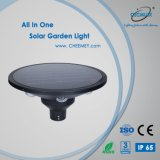 Illuminazione economizzatrice d'energia di paesaggio con 12W alimentato indicatore luminoso solare