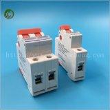 El color rojo MCCB Foshan 63 2p el Disyuntor interruptor neumático Breaker Interruptor Eléctrico