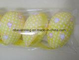 Ostern-Dekoration-Ostereier mit gedrucktem Gewebe Xm-E-1041