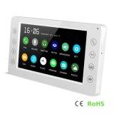Обеспеченность высокого качества Interphone памяти домашняя 7 видео- дюймов внутренной связи телефона двери
