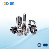 주문을 받아서 만들어진 부속 알루미늄 스테인리스 티타늄 CNC 도는 정밀도 기계로 가공 부속