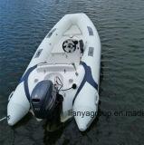 Liya 12.5feet nervure le ce de canot de bateau de vitesse d'embarcation de plaisance reconnu