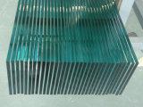 Le verre trempé trempé de sécurité pour les matériaux de construction