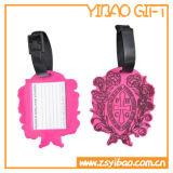 2016 Fashion PVC Souple Luggage Tag pour cadeau promotionnel