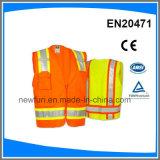 고품질 사려깊은 안전 조끼 대회 세륨 En 20471 기준