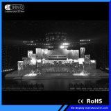 P4.81mm alta frecuencia de refresco de pantalla etapa RGB LED SMD de coches