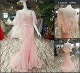 Шнурок Mermaid розовые/платье вечера венчания Tulle