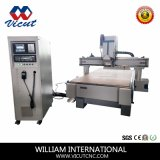 Ranurador linear profesional del CNC de China, máquina de grabado para Furnituure