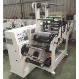 320 mm POS impreso en papel de recepción térmica máquina rebobinadora y cortadora longitudinal