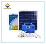 Sistema portatile di energia solare di alta efficienza 100W nella casa