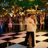 Suelo al aire libre de la danza de la madera contrachapada de la boda para la decoración de la boda del acontecimiento