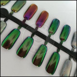 Colorantes brillante Nail Art Chameleon espejo cromado de pigmento de la perla