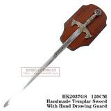 Espadas medievais da decoração das espadas da espada de Arn 120cm HK2037GS