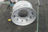 Cerchione d'acciaio di alta qualità per il camion, cerchioni d'acciaio senza camera d'aria del camion, rotella d'acciaio