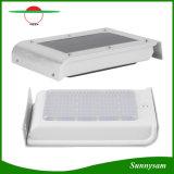16 LED-Solarmikrowellen-Radar-Bewegungs-Fühler-Wand-Licht-im Freien wasserdichte Garten-Sicherheits-Lampe