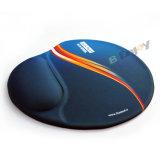 주문 Non-Slip 디자인 손목 나머지에 인간 환경 공학 선전용 젤 마우스 패드