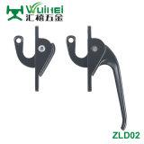Tous les zinc pour une fenêtre avec la poignée de la tringlerie est09001 (ZLD002)